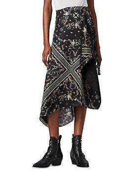 ALLSAINTS - Maia Assam Print Skirt