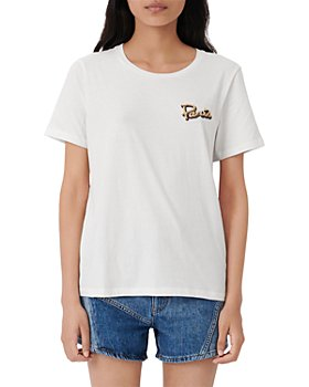 Maje - Paris Embroidered Tee