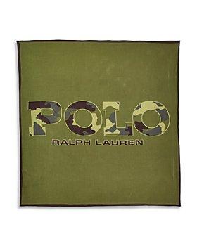 Polo Ralph Lauren - Camo Text Bandana Face Mask