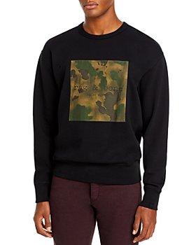 rag & bone - Camo Square Sweatshirt