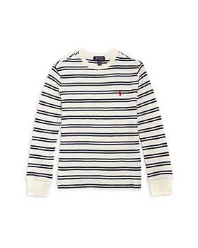 Ralph Lauren - Boys' Striped Pullover - Little Kid, Big Kid