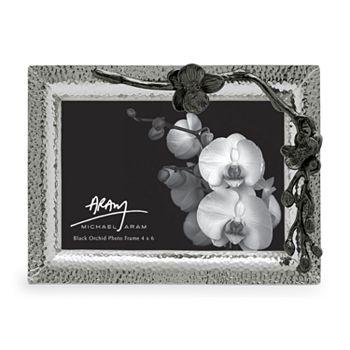"Michael Aram - ""Black Orchid"" Frame, 4"" x 6"""