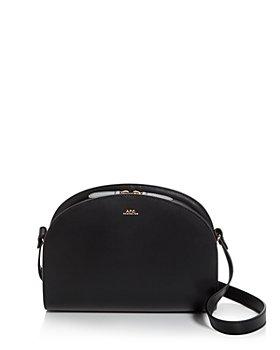 A.P.C. - Sac Demi-Lune Leather Crossbody