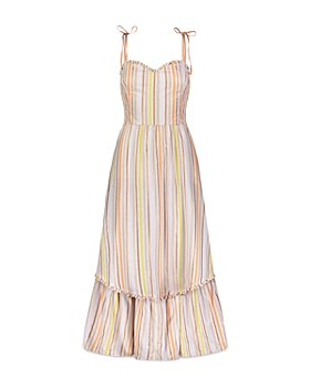 Lemlem - Retta Smocked Striped Dress