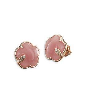 Pasquale Bruni - 18K Rose Gold Flower Stud Earrings