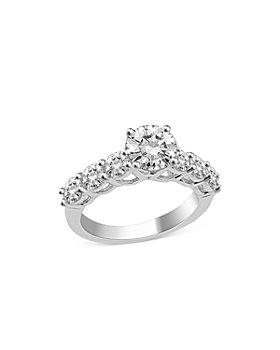 Bloomingdale's - Certified Diamond Engagement Ring in 14K White Gold, 3 ct. t.w. - 100% Exclusive
