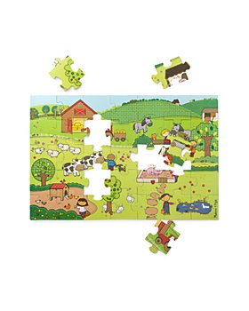 Melissa & Doug - 35 Pc. Natural Play Giant Floor Puzzle - Ages 3+