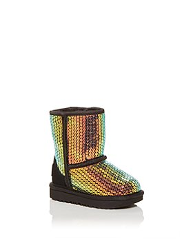 UGG® - Girl's Classic II Stellar Sequin Boots - Walker, Toddler, Little Kid, Big Kid