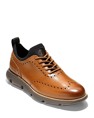 Men's 4.ZERGRAND Wingtip Oxfrord Dress Shoes