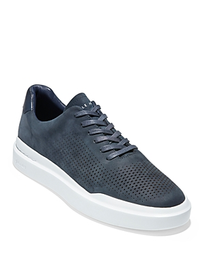Men's GrandPr Rally Laser Cut Lace Up Sneakers
