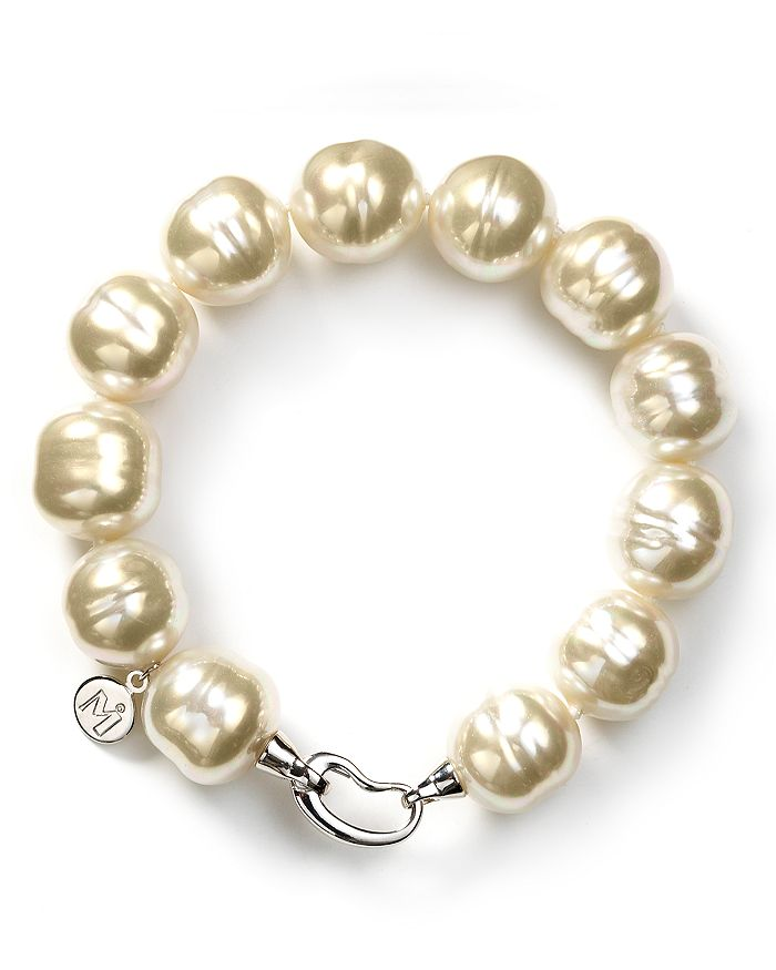 Majorica - Baroque Simulated Pearl Bracelet