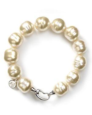 Majorica Baroque Simulated Pearl Bracelet