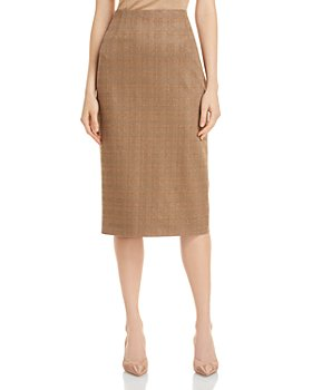 BOSS - Vericana Plaid Pencil Skirt