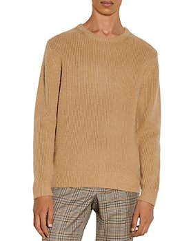 Sandro - Wool Ribbed Sweater