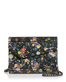 Jimmy Choo - Candy Embellished Floral Clutch