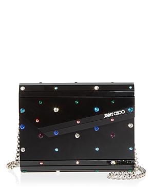 Jimmy Choo Candy Embellished Crossbody-Handbags