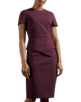 Ted Baker - Elynah Peplum Sheath Dress