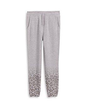 Splendid - Girls' Ombré Leopard Print Jogger Pants - Big Kid