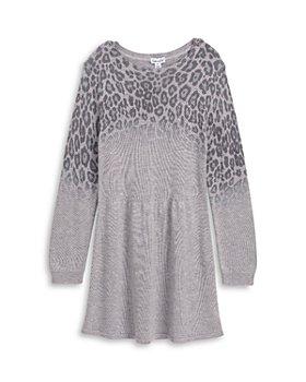 Splendid - Girls' Ombré Leopard Print Cotton Dress - Little Kid, Big Kid