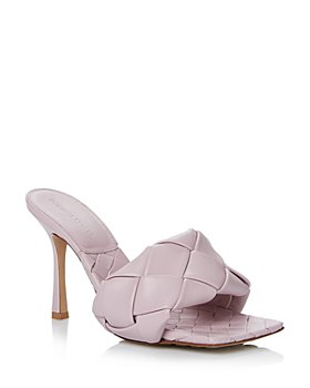 Bottega Veneta - Women's Woven Leather High-Heel Sandals