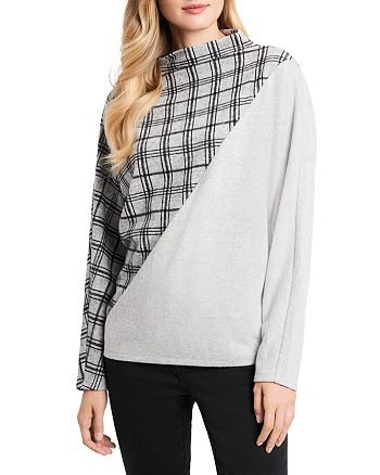 VINCE CAMUTO - Plaid Sweater
