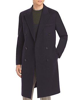 Paul Smith - Wool & Cashmere Double-Breasted Slim Fit Topcoat