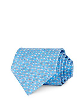 Salvatore Ferragamo - Snail Love Silk Classic Necktie