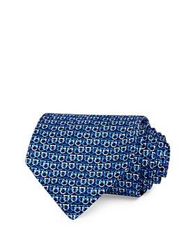 Salvatore Ferragamo - Olympic Gancini Silk Classic Necktie