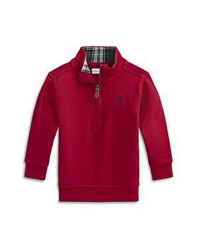 Ralph Lauren - Boys' Cotton Quarter Zip Pullover - Baby