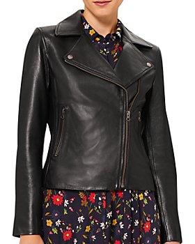 HOBBS LONDON - Tania Leather Jacket
