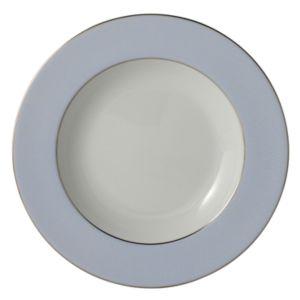 Bernardaud Dune Blue Rim Soup Plate