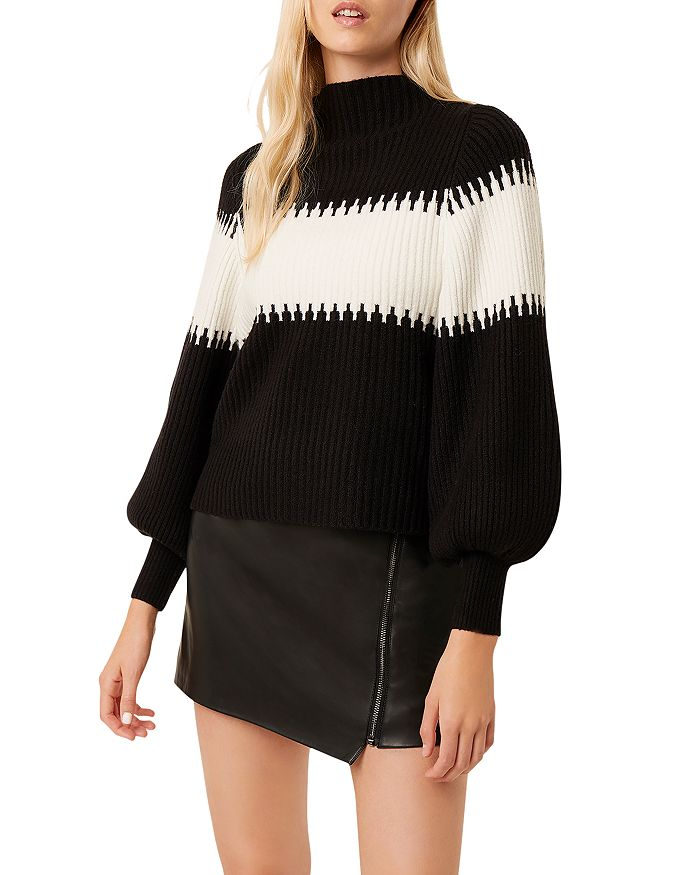 FRENCH CONNECTION - Sophia Color Blocked Sweater