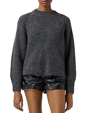 The Kooples Long Sleeve Knit Sweater-Women