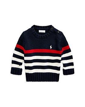 Ralph Lauren - Boys' Striped Cotton Sweater - Baby