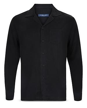 Frescobol Carioca x Johannes Huebl Classic Fit Long Sleeve Shirt