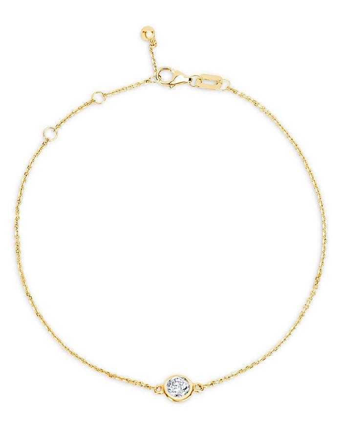 Bloomingdale's - Diamond Bezel Bracelet in 14K Yellow Gold, 0.20 ct. t.w. - 100% Exclusive