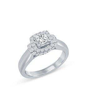 Bloomingdale's - Princess Cut Diamond Engagement Ring in 14K White Gold, 1.0 ct. t.w. - 100% Exclusive