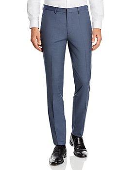 HUGO - Hesten Textured Weave Extra Slim Fit Suit Pants