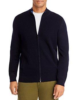 BOSS - Mileo Zip Front Sweater