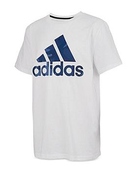 Adidas - Boys' Camo Logo Tee - Big Kid