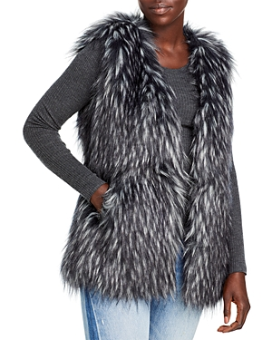 Via Spiga Faux Fur Vest-Women