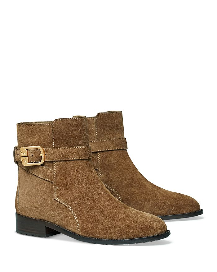 Tory Burch - Women's Brooke Buckled Ankle Booties
