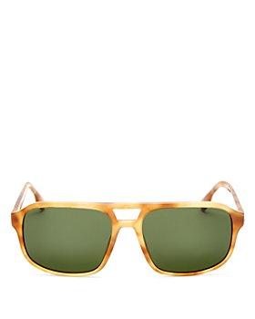 Burberry - Men's Havana Brow Bar Square Sunglasses, 58mm