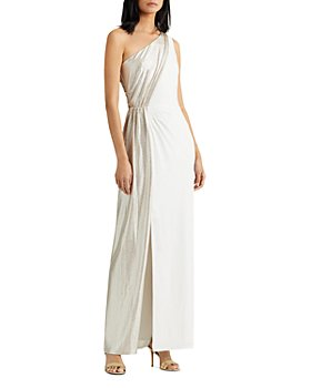 Ralph Lauren - Metallic Jersey Gown