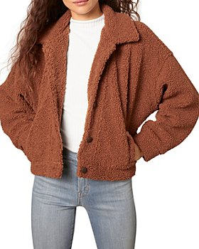 cupcakes and cashmere - Fiona Faux Shearling Jacket