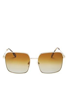 Burberry - Women's Polarized Square Sunglasses, 58mm