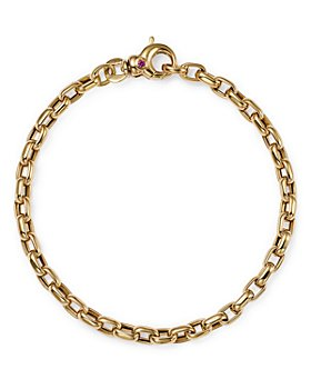 Roberto Coin - 18K Yellow Gold Oval Link Bracelet