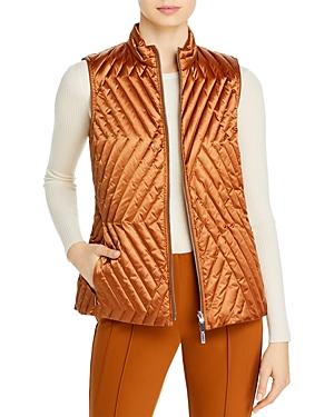 Lafayette 148 New York Reversible Bellamy Puffer Vest