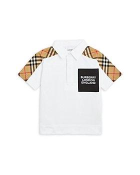 Burberry - Boys' Johnathan Vintage Check Piqué Shirt - Baby, Little Kid, Big Kid