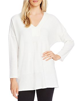VINCE CAMUTO - Cozy V-Neck Tunic
